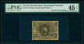 Fractional Currency:Second Issue, Fr. 1244 10¢ Second Issue Treasury Rectangle PMG Choice Extremely Fine 45 EPQ.. ...