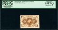 Fractional Currency:First Issue, Milton 1E5F.2 (Similar) 5¢ First Issue PCGS Choice New 63PPQ.. ...
