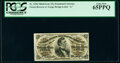 Fractional Currency:Third Issue, Fr. 1296 25¢ Third Issue PCGS Gem New 65PPQ.. ...