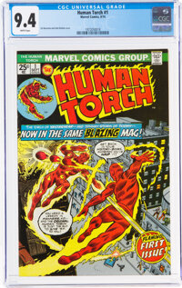 The Human Torch #1 (Marvel, 1974) CGC NM 9.4 White pages