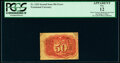 Fractional Currency:Second Issue, Fr. 1322 50¢ Second Issue Inverted Bronze PCGS Apparent Fine 12.. ...