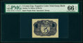 Fractional Currency:Second Issue, Milton 2E5R.2b 5¢ Second Issue PMG Gem Uncirculated 66 EPQ, 2 POCs.. ...