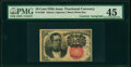 Fractional Currency:Fifth Issue, Fr. 1266 10¢ Fifth Issue Courtesy Autograph PMG Choice Extremely Fine 45.. ...