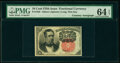 Fractional Currency:Fifth Issue, Fr. 1265 10¢ Fifth Issue Courtesy Autograph PMG Choice Uncirculated 64 EPQ.. ...
