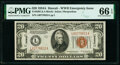 Small Size:World War II Emergency Notes, Fr. 2305 $20 1934A Hawaii Federal Reserve Note. PMG Gem Uncirculated 66 EPQ.. ...