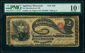 Appleton, WI - $2 Original Fr. 389a The Manufacturers National Bank Ch. # 1820 PMG Very Good 10 Net