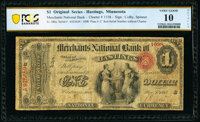 Hastings, MN - $1 Original Fr. 380a The Merchants National Bank Ch. # 1538 PCGS Banknote Very Good 10 D
