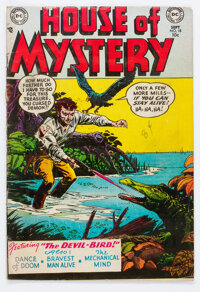 House of Mystery #18 (DC, 1953) Condition: VG+
