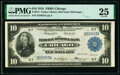 Fr. 814 $10 1918 Federal Reserve Bank Note PMG Very Fine 25