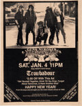 Music Memorabilia:Posters, Guns N' Roses 1986 Pre-Fame Flyer from Doug Weston's Troubadour, West Hollywood. ...