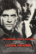 """Movie Posters:Action, Lethal Weapon (Warner Bros., 1987). Rolled, Very Fine-. One Sheet (27"""" X 40.25"""") SS. Action.. ..."""