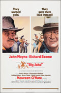 """Movie Posters:Western, Big Jake (National General, 1971). Folded, Very Fine. One Sheet (27"""" X 41"""") Style A. Western.. ..."""