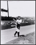 Baseball Collectibles:Photos, Lou Gehrig Swinging Oversized Print - The Charles Conlon Collection....