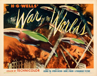"The War of the Worlds (Paramount, 1953). Rolled, Very Fine/Near Mint. Half Sheet (22"" X 28"") Style B"