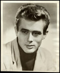 """Movie Posters:Miscellaneous, James Dean (c. Early 1950s). Fine/Very Fine. Autographed Photo (8"""" X 9.5"""").. ..."""