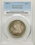 Reeded Edge Half Dollars, 1837 50C XF45 PCGS. PCGS Population: (273/1336). NGC Census: (136/1197). CDN: $220 Whsle. Bid for NGC/PCGS XF45. Mintage 3,...