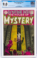 Silver Age (1956-1969):Horror, House of Mystery #174 (DC, 1968) CGC VF/NM 9.0 Off-white to white pages....