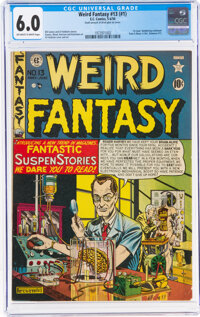 Weird Fantasy 13 (#1) (EC, 1950) CGC FN 6.0 Off-white to white pages