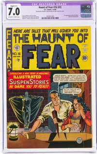 Haunt of Fear 16 (#2) (EC, 1950) CGC Apparent FN/VF 7.0 Slight (C-1) Off-white to white pages
