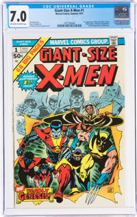 Giant-Size X-Men #1 (Marvel, 1975) CGC FN/VF 7.0 Off-white to white pages