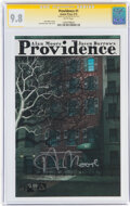 Modern Age (1980-Present):Horror, Providence #1 Signature Series: Alan Moore (Avatar Press, 2015) CGC NM/MT 9.8 White pages....