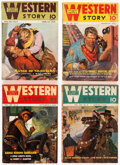 Pulps:Western, Western Story Magazine Group of 43 (Street & Smith, 1937-41) Condition: Average VG-.... (Total: 43 Items)