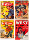 Pulps:Western, Assorted Western Comics Box Lot (Various Publishers, 1933-54) Condition: Average VG-....