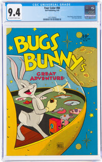 Four Color #88 Bugs Bunny (Dell, 1945) CGC NM 9.4 Off-white to white pages