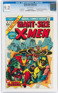 Giant-Size X-Men #1 (Marvel, 1975) CGC NM- 9.2 Off-white pages
