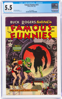 Famous Funnies #213 (Eastern Color, 1954) CGC FN- 5.5 Off-white to white pages