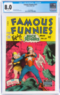 Golden Age (1938-1955):Science Fiction, Famous Funnies #211 (Eastern Color, 1954) CGC VF 8.0 White pages....