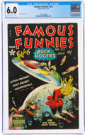 Golden Age (1938-1955):Science Fiction, Famous Funnies #212 (Eastern Color, 1954) CGC FN 6.0 Off-white to white pages....