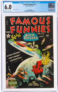 Famous Funnies #212 (Eastern Color, 1954) CGC FN 6.0 Off-white to white pages
