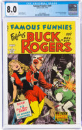 Golden Age (1938-1955):Science Fiction, Famous Funnies #209 (Eastern Color, 1953) CGC VF 8.0 White pages....