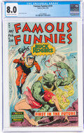 Golden Age (1938-1955):Science Fiction, Famous Funnies #210 (Eastern Color, 1954) CGC VF 8.0 Off-white to white pages....