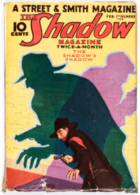 The Shadow - February 1, 1933 (Street & Smith) Condition: VG