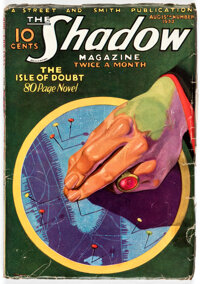 The Shadow - August 15, 1933 (Street & Smith) Condition: VG