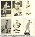 Miscellaneous, 1930'S SUPERSTAR POSTCARD COLLECTION. This group of 15 assorted ...