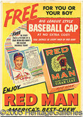 Miscellaneous, RED MAN ADVERTISING POSTERS. Over the years, collector pursui...