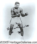 Miscellaneous, MUHAMMAD ALI SIGNED PHOTO. Most celebrities of the magnitude of ...