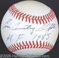 Miscellaneous, ENOS SLAUGHTER SINGLE SIGNED BALL. Much has been made of Pete...