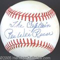 Miscellaneous, PEE WEE REESE SINGLE SIGNED BALL. In most instances, so-calle...