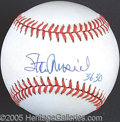 Miscellaneous, STAN MUSIAL SINGLE SIGNED BALL. In hisearly professiona...