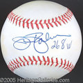Miscellaneous, JIM PALMER SINGLE SIGNED BALL. Some guys! Adopted into ...