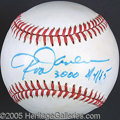 Miscellaneous, ROD CAREW SINGLE SIGNED BALL. In the batter's box, he looked ...