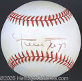 Miscellaneous, WILLIE MAYS SINGLE SIGNED BALL. We'd like to have a transcrip...