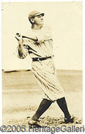 Miscellaneous, BABE RUTH PHOTO PRINT. Let it never be said that the mighty Babe...