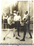 Miscellaneous, ORIGINAL JACK JOHNSON WIRE PHOTO. Its exact vintage is unknown, ...