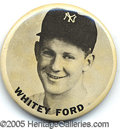 Miscellaneous, WHITEY FORD PIN. Though the variety of souvenir lapel pi...