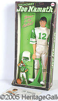 "Miscellaneous, BROADWAY JOE NAMATH DOLL IN ORIGINAL BOX. From 1970, This 12""..."